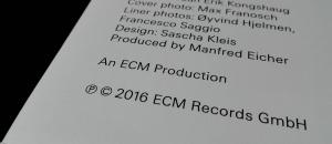 płyta gramofonowa jazz z ecm