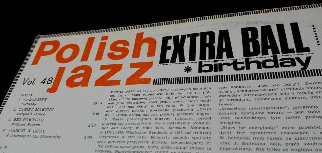 płyta winylowa polish jazz extra ball