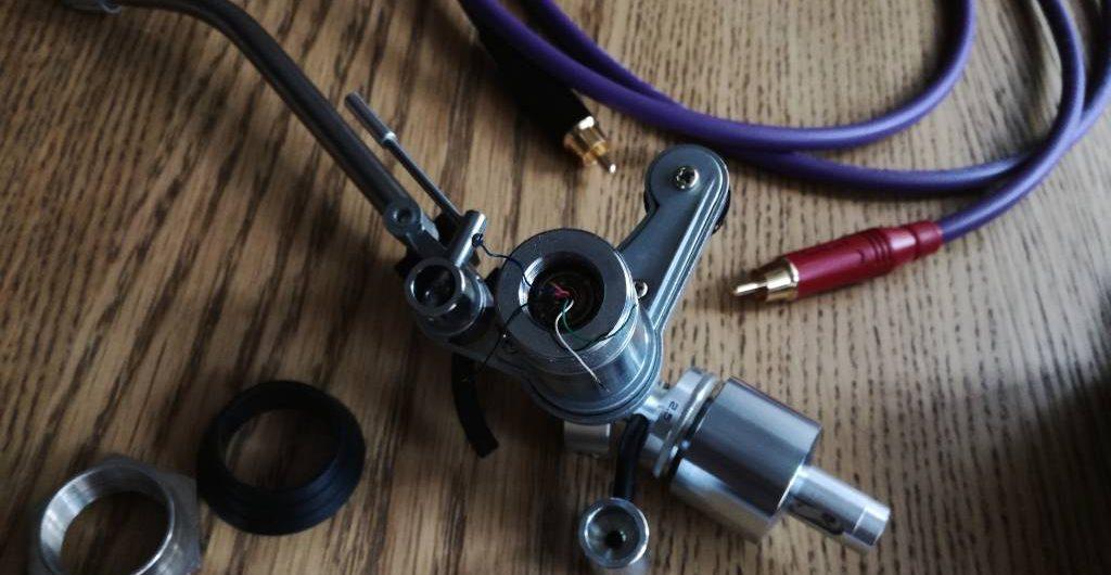 wymiana kabli gramofonowych MELODIKA REGA R200