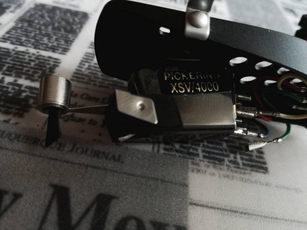 PICKERING XSV 4000 REGA R200 WKŁADKA IGŁA wymiana kabli gramofonowych