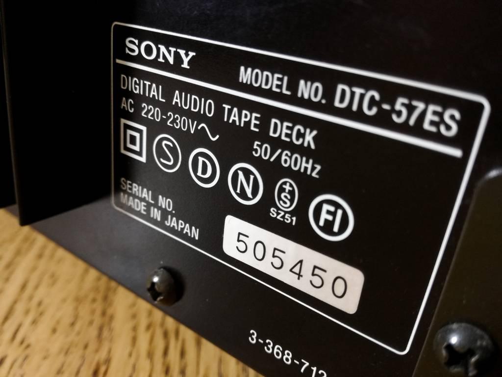 Jaki DAC do 1000 zł? DAT Sony 57ES
