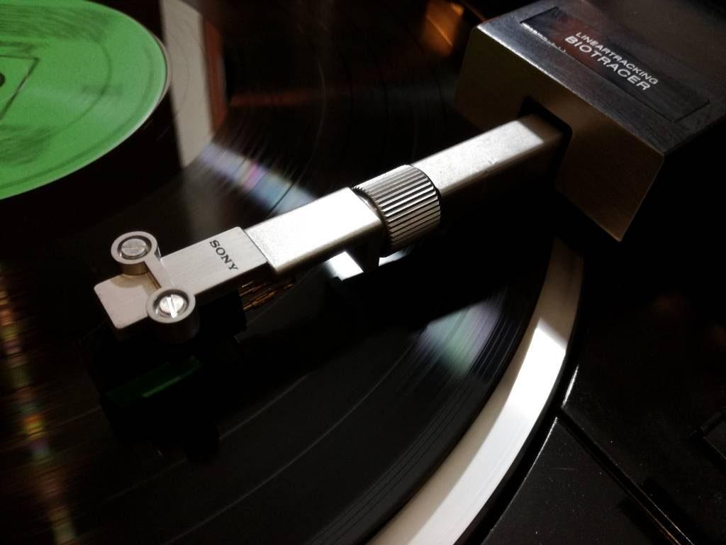 Gramofon tangencjalny Sony PS-X555es at95