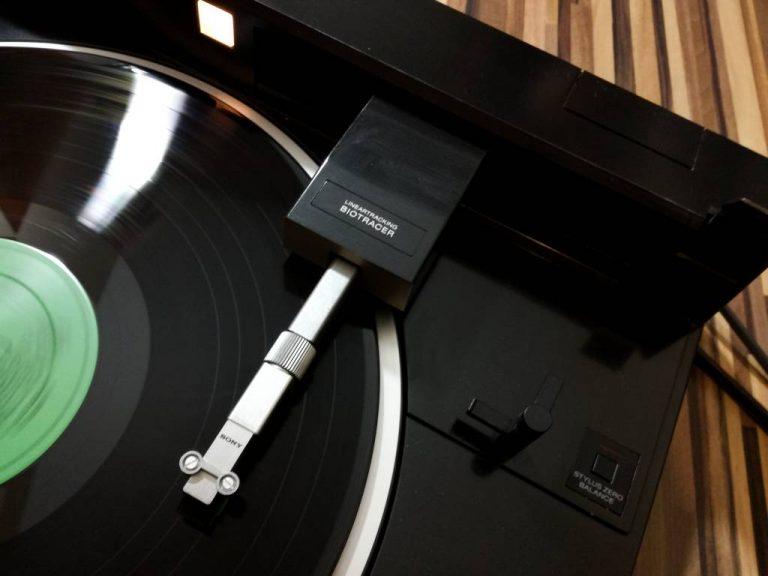Gramofon tangencjalny Sony PS-X555es naprawa