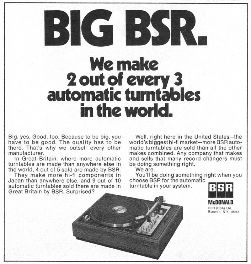 naprawa gramofonu bsr idlerowego dual lenco