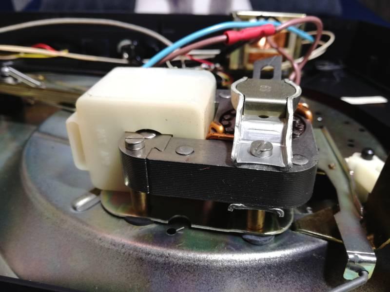 naprawa gramofonu bsr silnik